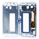 Samsung Galaxy A7 A720 LCD Frame Bezel in Blue
