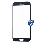 Samsung Galaxy A7 SM-A720 Glass Lens with Adhesive in Black