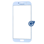 Samsung Galaxy A7 SM-A720 Glass Lens with Adhesive in Blue