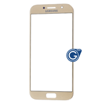 Samsung Galaxy A7 SM-A720 Glass Lens with Adhesive in Gold