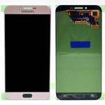 Genuine Samsung Galaxy A8 2016 (A810) lcd and touchpad in Pink - Part no: GH97-19655B