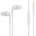 Genuine Samsung In Ear Earphones EO-EG900BW Galaxy S5,S6,S7 3.5mm Jack Handsfree Headset With Remote MIC In White