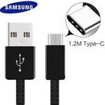 Genuine Samsung S8 Type C Usb Cable in Black - EP-DG950CBE