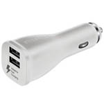 Genuine Samsung AFC Dual Fast Car Charger (EP-LN920) Adaptive Fast Charging - White