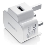 Genuine Samsung UK 3-pin Mains Fast Charging Adapter for Samsung Galaxy S7/S7 Edge/S6 Edge+ (Plus) / Galaxy S6/S6 Edge / Galaxy Note 4- Samsung part no: ETA-U90UWE