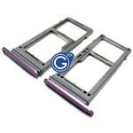 Samsung Galaxy S9 G960F Sim Tray Purple/Gray