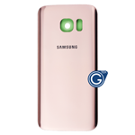 Samsung Galaxy S7 SM-G930 Battery Cover in Rose Gold