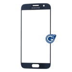 Samsung Galaxy S7 SM-G930 Glass Lens with Adhesive in Black - Compatible part