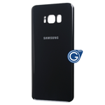 Samsung Galaxy S8 SM-G950 Battery Cover in Black  - Compatible part