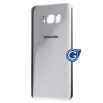 Samsung Galaxy S8 SM-G950 Battery Cover in Silver = Compatible part