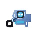 Samsung Galaxy S8 SM-G950F Camera Lens in Blue 2pcs set