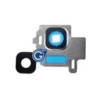 Samsung Galaxy S8 SM-G950F Camera Lens in Silver 2pcs Set
