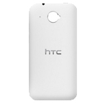 Genuine HTC Desire 601 Battery Cover (White) - HTC Part numbers: P/N:74H02574-07M, 74H02574-14M