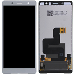 Genuine Sony Xperia XZ2 Compact LCD and Touchpad in Silver - Part no 1313-0917