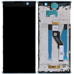 Genuine Sony Xperia XA2 Plus SS lcd and touchpad in Silver - Part no 78PC5100020