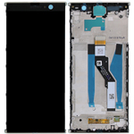 Genuine Sony Xperia XA2 Plus SS lcd and touchpad with frame in Gold - Part no 78PC5100030