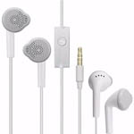 Genuine Samsung In-Ear Headphones with Built In Microphone (White) - Part no: GH59-11129H