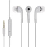 Genuine Samsung Handsfree Earphones with Microphone in White (EHS64AVFWE) - Part no: GH59-11720A