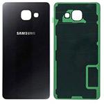 Genuine Samsung SM-A510F Galaxy A5 Battery Cover in Black-Samsung part no: GH82-11020B