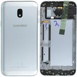 Genuine Samsung J330F Galaxy J3 2017 Back Cover In Silver - Part no: GH82-14890B
