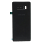 Genuine Samsung SM-N950 Galaxy Note 8 Battery Cover Black -  Part no: GH82-14979A