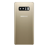 Genuine Samsung Galaxy Note 8 (N950) Battery cover in Gold  Part no: GH82-14979D