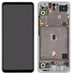 Genuine Samsung Galaxy SM-A516 ( A51 5G) lcd and touchpad in White- GH82-23100B