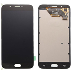 Genuine Samsung Galaxy A8 (A800F, A800Y, A8 Duos) Lcd and touchpad in Black -Part no: GH97-17696C