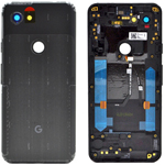 Genuine Google Pixel 3a ROW Black Rear Battery Cover - Part no: 20GS4BW0003