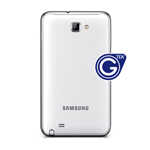 Genuine Samsung Galaxy Note 2 GT-N7100 Battery Cover - White - GH98-24445A