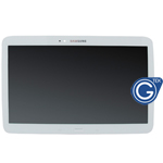 Genuine Samsung Galaxy Tab 3 10.1 P5200 P5210 P5220 Complete LCD with Frame and Home Button in White