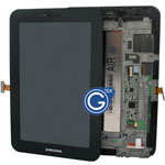 Samsung P6200 Galaxy Tab 7.0 Plus Complete LCD with Frame in Black