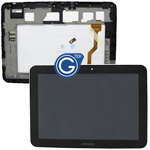 Genuine Samsung Galaxy Tab 8.9 P7300 Complete LCD with Frame  in Black
