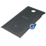 Genuine Sony C5303 Xperia SP, C5302 Xperia SP Battery Cover (Black) P/N:1268-3708, Battery Door, Back-Cover