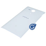Genuine Sony C5303 Xperia SP, C5302 Xperia SP Battery Cover (White) - P/N:1270-3756