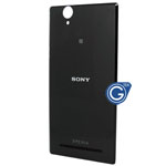 Genuine Sony Xperia T2 Ultra Dual XM50h Battery Cover in Black
