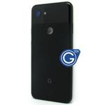 Google Pixel 3A  Back Cover in Black