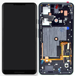 Genuine Google Pixel 3 XL Complete lcd and touchpad with frame in Just Black - Part no: 20GC1BW0S03