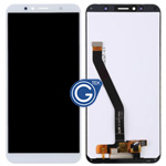 Huawei Enjoy 8E Complete LCD and Digitizer in White-HQ