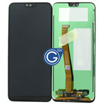 Huawei Honor 10 Complete LCD with Digitizer and Fingerprint in Black OEM