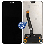 Huawei Honor 8X Complete LCD and Digitizer in Black-OEM