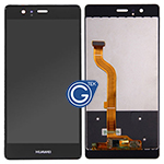 Huawei P9 Complete LCD and Digitizer in Black-HQ