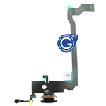 For iPhone Xs Max Charging Connector Flex Cable-Black