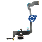 For iPhone Xs Charging Connector Flex Cable-Black