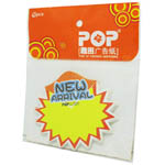 Advertising fluorescent card Write on Label - NEW ARRIVAL - 10pcs In a Pack