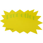 Advertising fluorescent card Write on Label - PROMOTION(Green) - 10pcs In a Pack