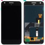 Genuine Google Pixel (G-2PW4200) Complete Lcd with Digitizer Touchscreen in Black - Google part no: 83H90204-00