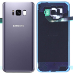 Genuine Samsung SM-G955 Galaxy S8+ Battery Cover in Orchid Grey - Part no: GH82-14015C