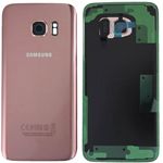 Genuine Samsung SM-G955 Galaxy S8+ Battery Cover in Rose Pink - Part no: GH82-14015E