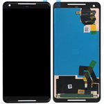 Genuine Google PIxel 2 XL (G011C) Lcd display and touchpad in Black - Part no: AJX74624901